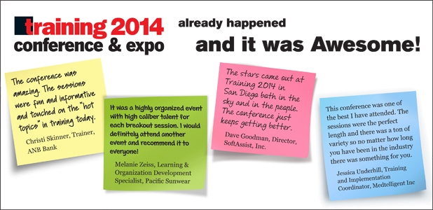 Training Conference & Expo 2014